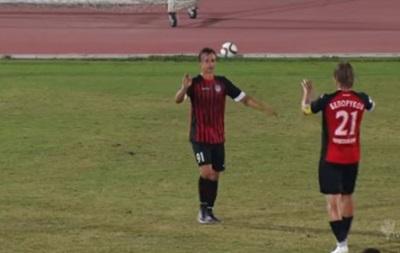 Украинский защитник забил красивый гол за российский клуб на сборах