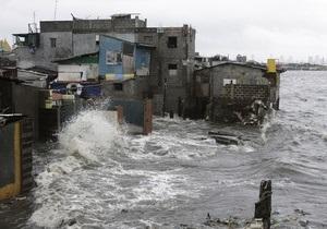 В результате тайфуна на Филиппинах погибли 37 человек