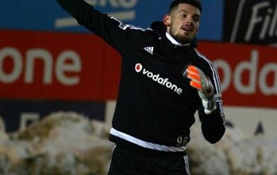 Денис Бойко провел первую тренировку в турецком Бешикташе