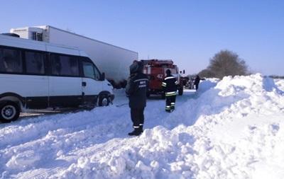 В Украине восстановлено движение на всех дорогах