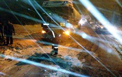 Новые снегопады осложнили движение на юге Украины