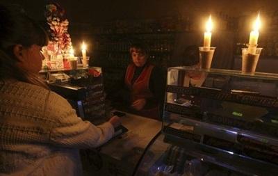 Часть Крыма вновь осталась без света