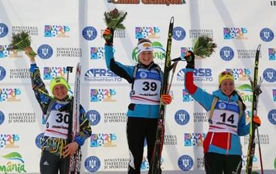 Украинка завоевала серебро на юниорском Чемпионате мира по биатлону