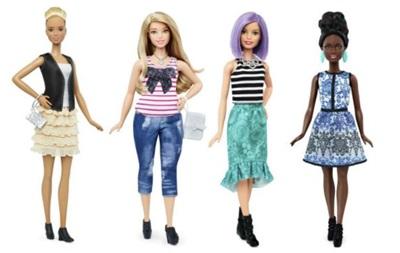 Виробники Барбі випускатимуть ляльки різних форм