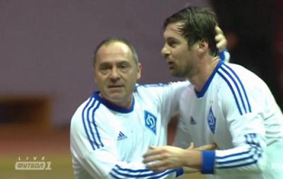 Ветераны минского и киевского Динамо сыграли в матче памяти Белькевича
