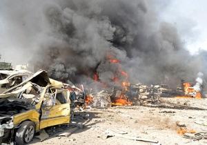 В Дамаске смертники подорвали штаб-квартиру сирийских спецслужб с помощью десяти тонн взрывчатки