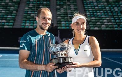 Australian Open: Веснина и Суарес - победители среди смешанных пар