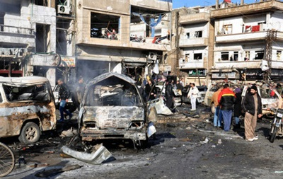В Сирии произошел двойной теракт