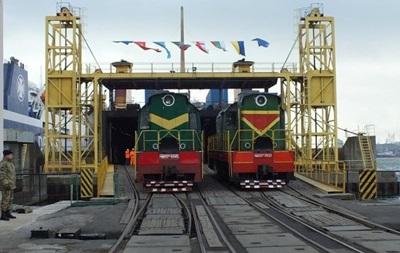 Перший потяг з України в обхід РФ досяг Китаю