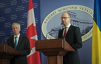 Украина завершила переговоры о ЗСТ с Канадой