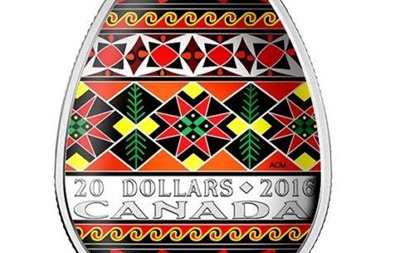 У Канаді випустять монети у вигляді української писанки