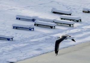 Морозы в Киеве побили рекорды 50-х годов