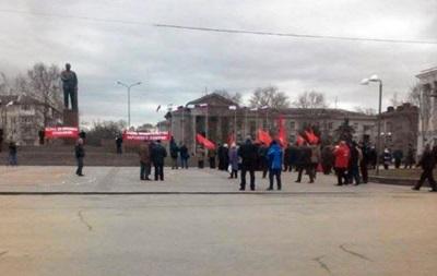 В Крыму пенсионеры митингуют против роста цен