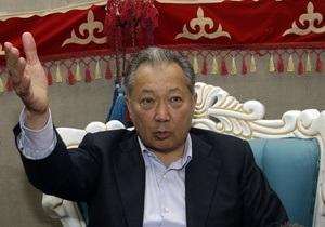 Бакиев призвал депутатов киргизского парламента приступить к работе