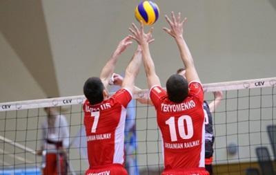 Украинский и российский волейбольные клубы в еврокубке договорились сыграть в Минске