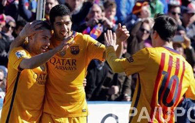 Барселона минимальными усилиями справилась с Леванте