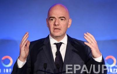 Украина поддержит Инфантино на выборах FIFA