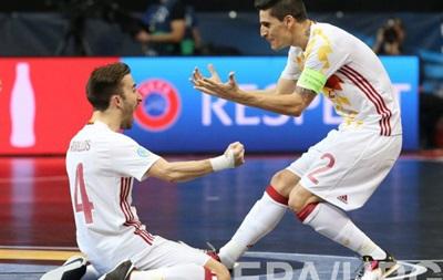 Испания вышла в полуфинал Евро 2016 по футзалу