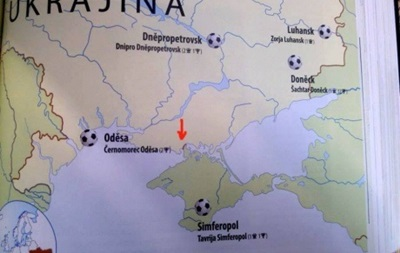 У Чехії пояснили випуск карти з російським Кримом