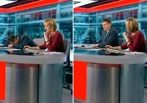 Ведущий Би-би-си уснул в прямом эфире