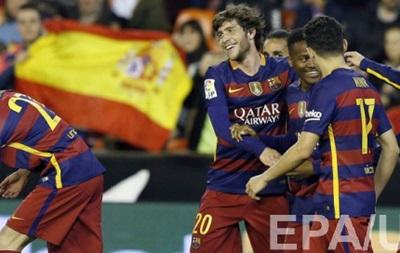 Барселона встановила рекордну серію без поразок