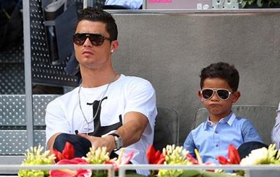 Син Роналду хоче бути схожим на батька