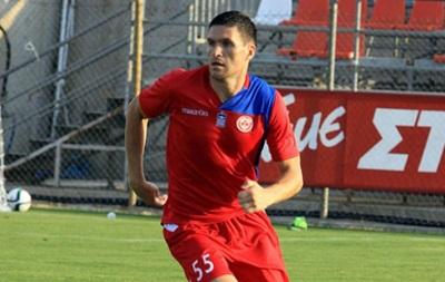Украинец Евгений Селин забил первый гол в чемпионате Греции