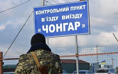 На границе с Крымом установлены видеокамеры