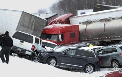 Авария из 50 авто в США: есть жертвы