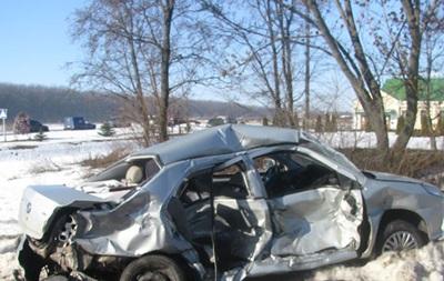 Двойное ДТП на Полтавщине:  скорая  задавила участника аварии