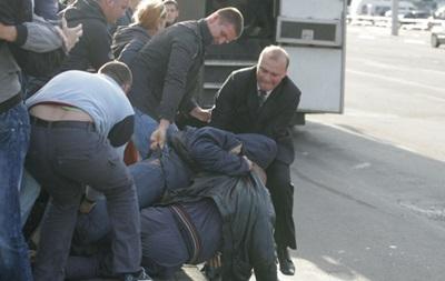 В Москве подрались дворники на ножах и молотках