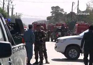 Смертник на автомобиле врезался в колонну ИСАФ в Кабуле