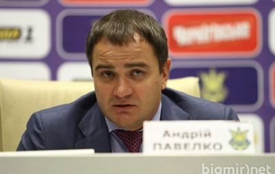 Павелко: Я вдячний Андрію Шевченку