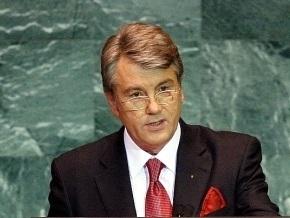Ющенко связывает заявления о фальсификации его отравления с выборами