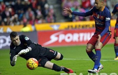 Барселона без сверхусилий обыграла Спортинг