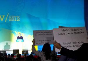 Рабочая группа Януковича рассмотрит обращение движения Стоп цензуре!