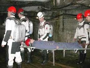 На шахте в Донецкой области горняка засыпало углем в подземном бункере