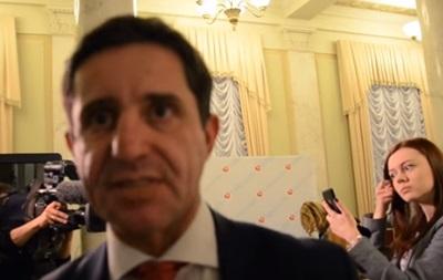 Шкіряк обізвав журналіста  сепаром і тварюкою  за запитання про декларації