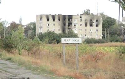 В штабе АТО заявили об угрозе захвата Марьинки