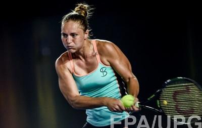 Украинка Екатерина Бондаренко вышла во второй раунд турнира в Дохе