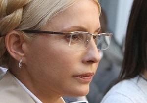 The Times: Тимошенко призвала Запад не закрывать глаза на гибель украинской демократии