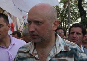 Турчинов - Тимошенко: То, что Вы сделали в Москве, спасло всю страну