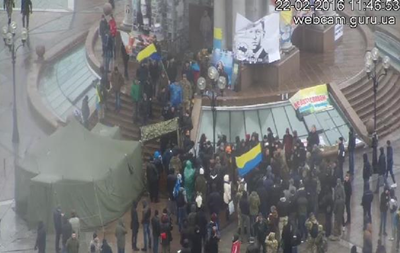 Майдан 3: Ветераны АТО отрицают участие