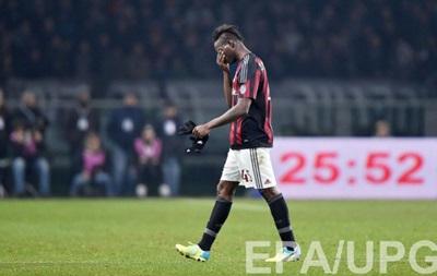 Балотелли показал неприличный жест в ответ на оскорбления фанов Наполи