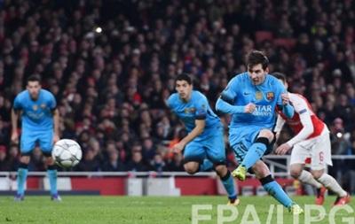Месси забил 10 000-й гол Барселоны в официальных турнирах