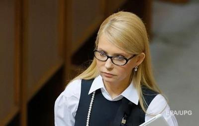 Тимошенко за год заработала 75 тысяч гривен