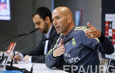 Зідан: Можливо, наступного сезону Реал тренуватиме хтось інший