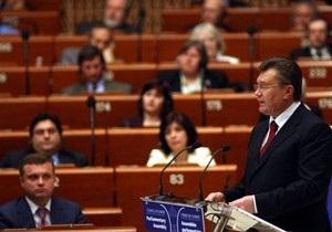 Янукович: Украинский парламент ратифицирует Европейскую языковую хартию