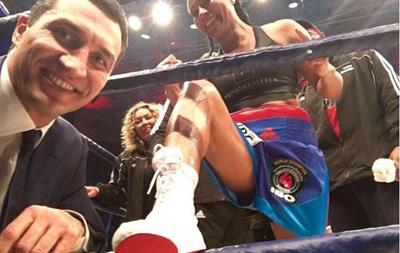 Кличко зробив ефектне селфі із чемпіонкою світу з боксу