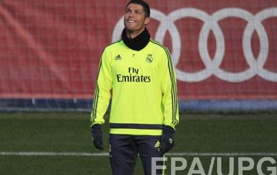 Роналду практично не працює на тренуваннях Реала - джерело